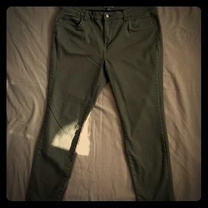 Sears Army green soft and stretch Pants 16